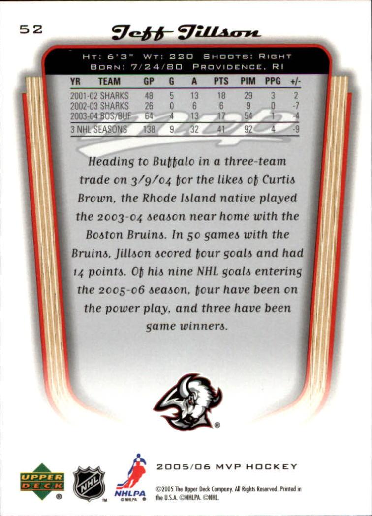 2005-06-Upper-Deck-MVP-Hockey-Card-Pick-1-250 thumbnail 100