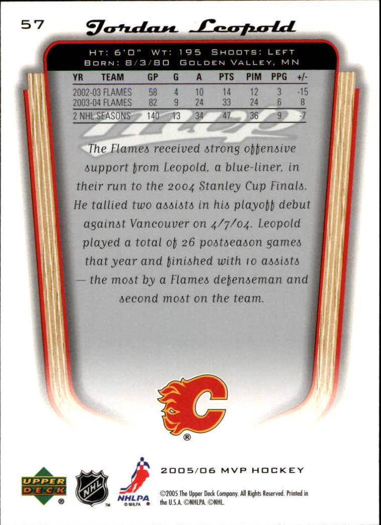 2005-06-Upper-Deck-MVP-Hockey-Card-Pick-1-250 thumbnail 108