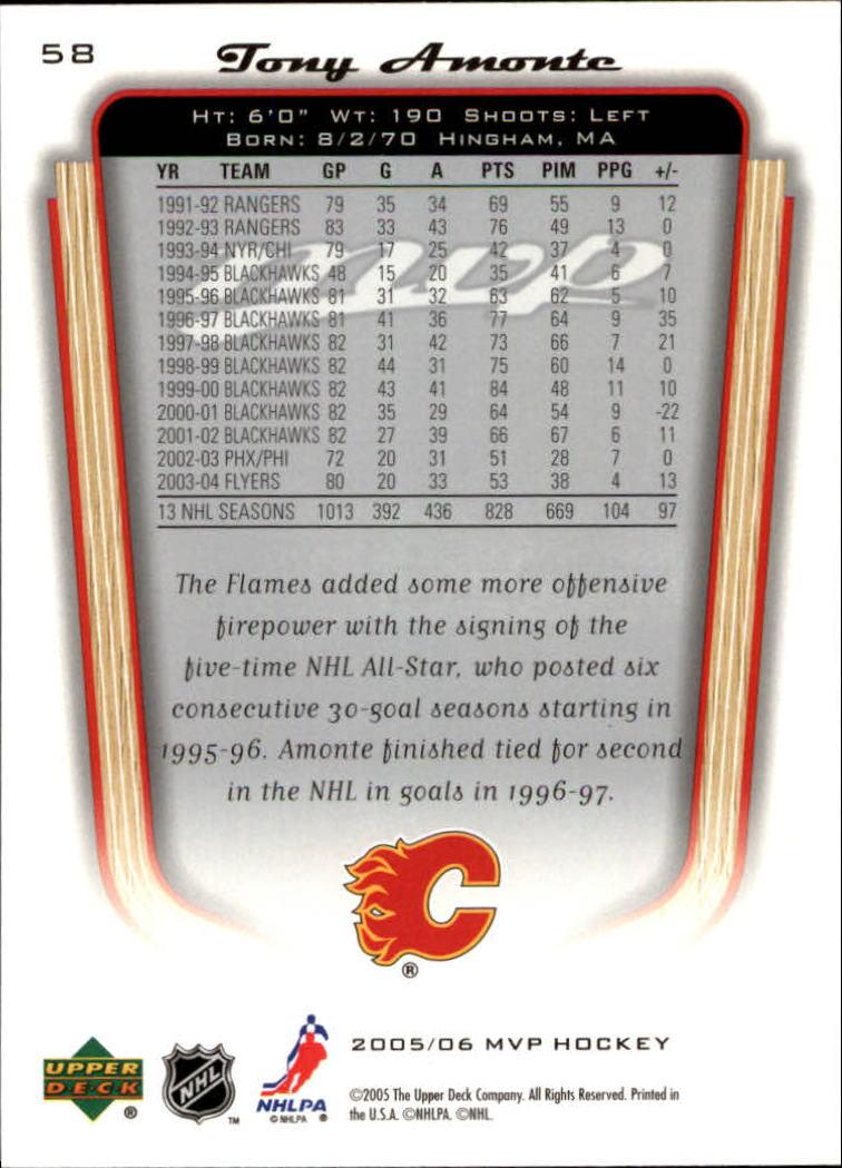 2005-06-Upper-Deck-MVP-Hockey-Card-Pick-1-250 thumbnail 110