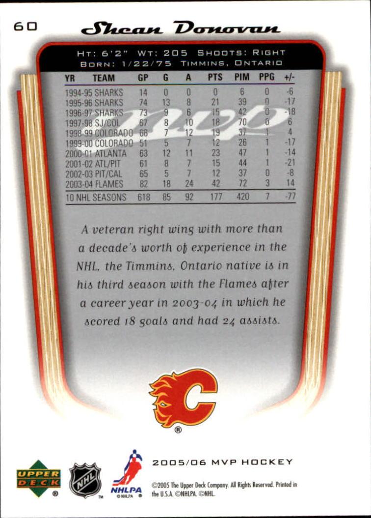 2005-06-Upper-Deck-MVP-Hockey-Card-Pick-1-250 thumbnail 114