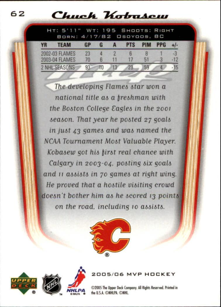 2005-06-Upper-Deck-MVP-Hockey-Card-Pick-1-250 thumbnail 118