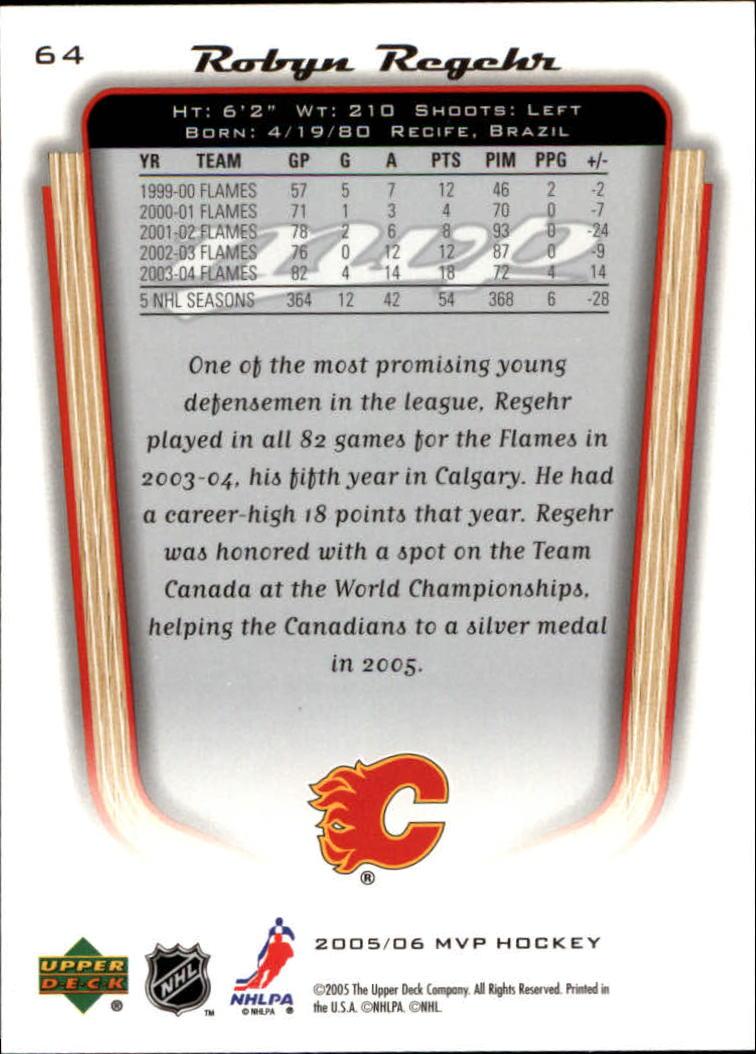 2005-06-Upper-Deck-MVP-Hockey-Card-Pick-1-250 thumbnail 122