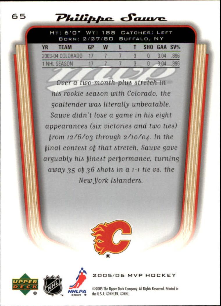 2005-06-Upper-Deck-MVP-Hockey-Card-Pick-1-250 thumbnail 124