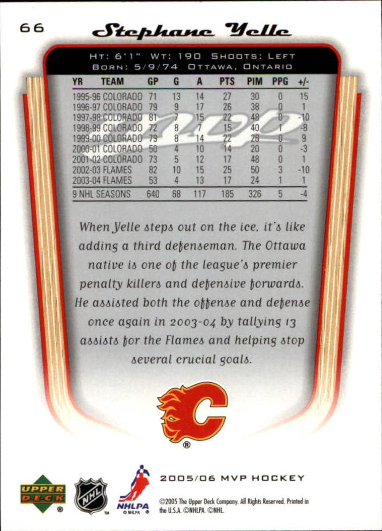 2005-06-Upper-Deck-MVP-Hockey-Card-Pick-1-250 thumbnail 126