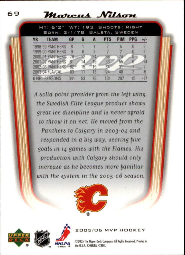 2005-06-Upper-Deck-MVP-Hockey-Card-Pick-1-250 thumbnail 132