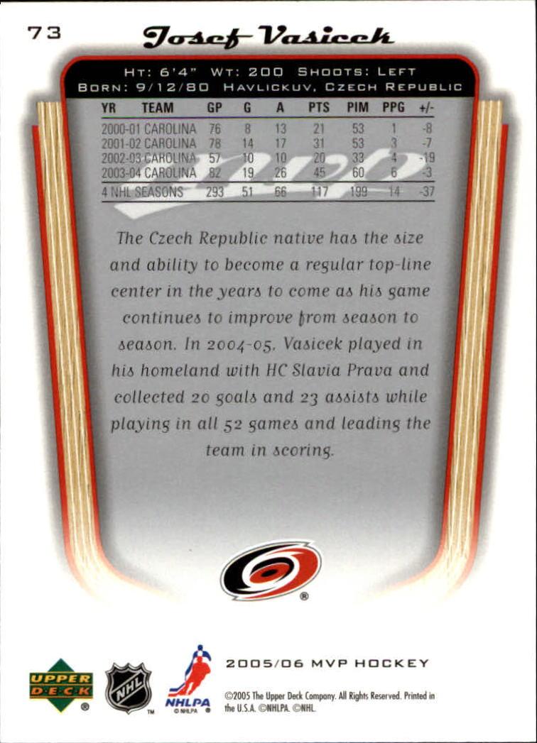 2005-06-Upper-Deck-MVP-Hockey-Card-Pick-1-250 thumbnail 140