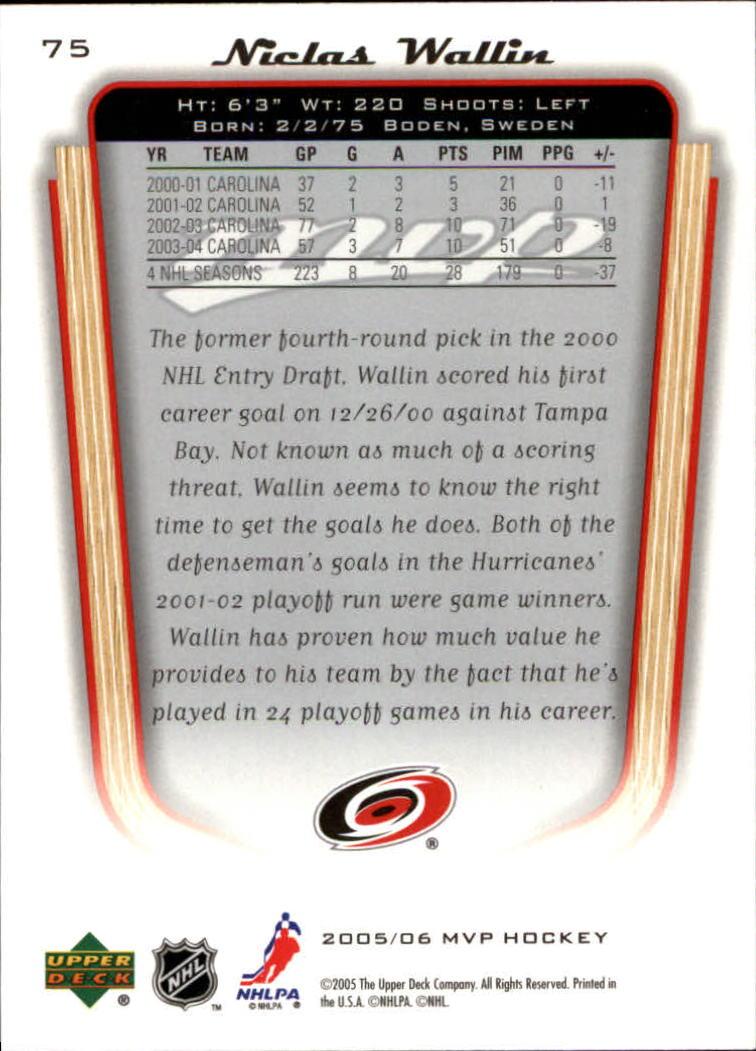 2005-06-Upper-Deck-MVP-Hockey-Card-Pick-1-250 thumbnail 144