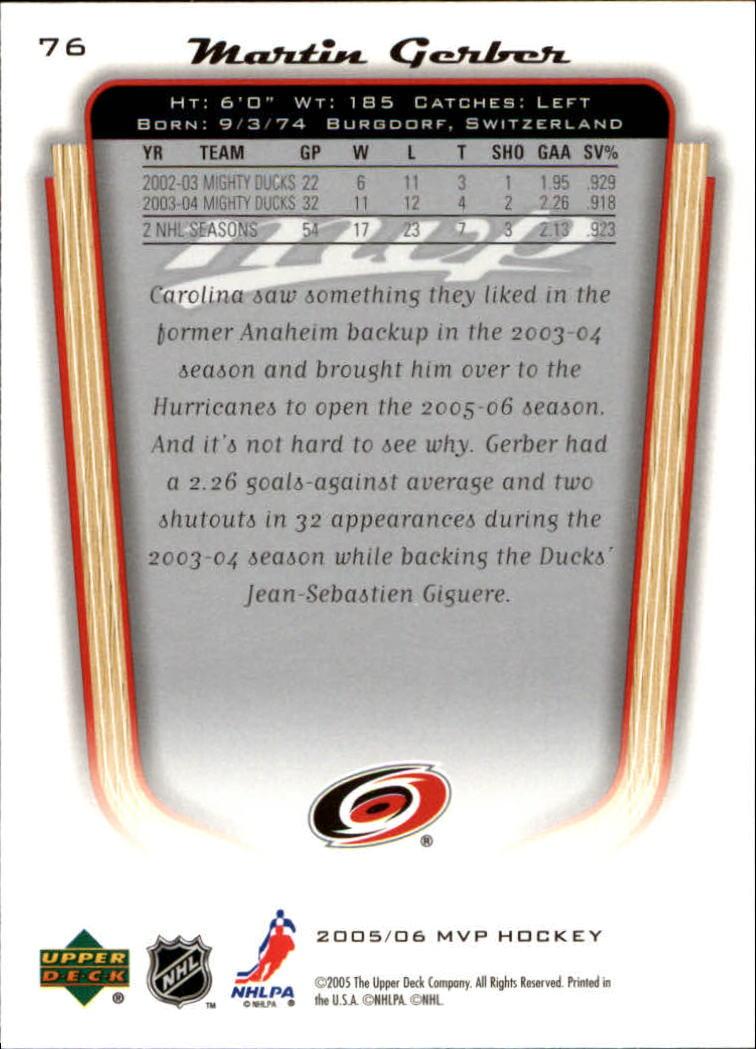 2005-06-Upper-Deck-MVP-Hockey-Card-Pick-1-250 thumbnail 146