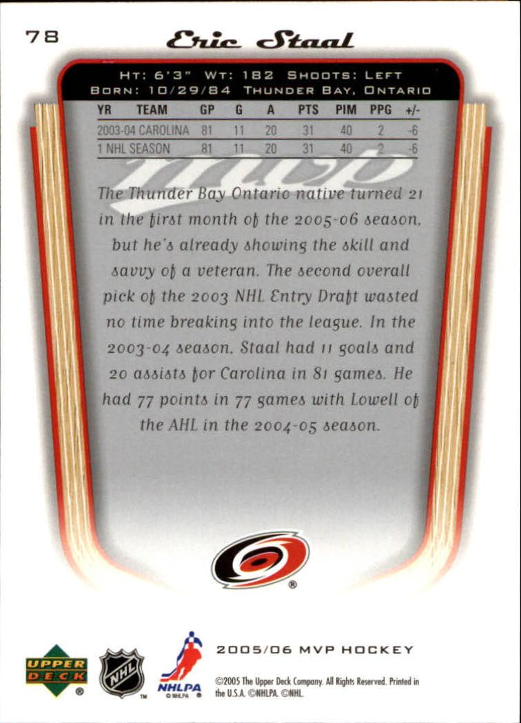 2005-06-Upper-Deck-MVP-Hockey-Card-Pick-1-250 thumbnail 150