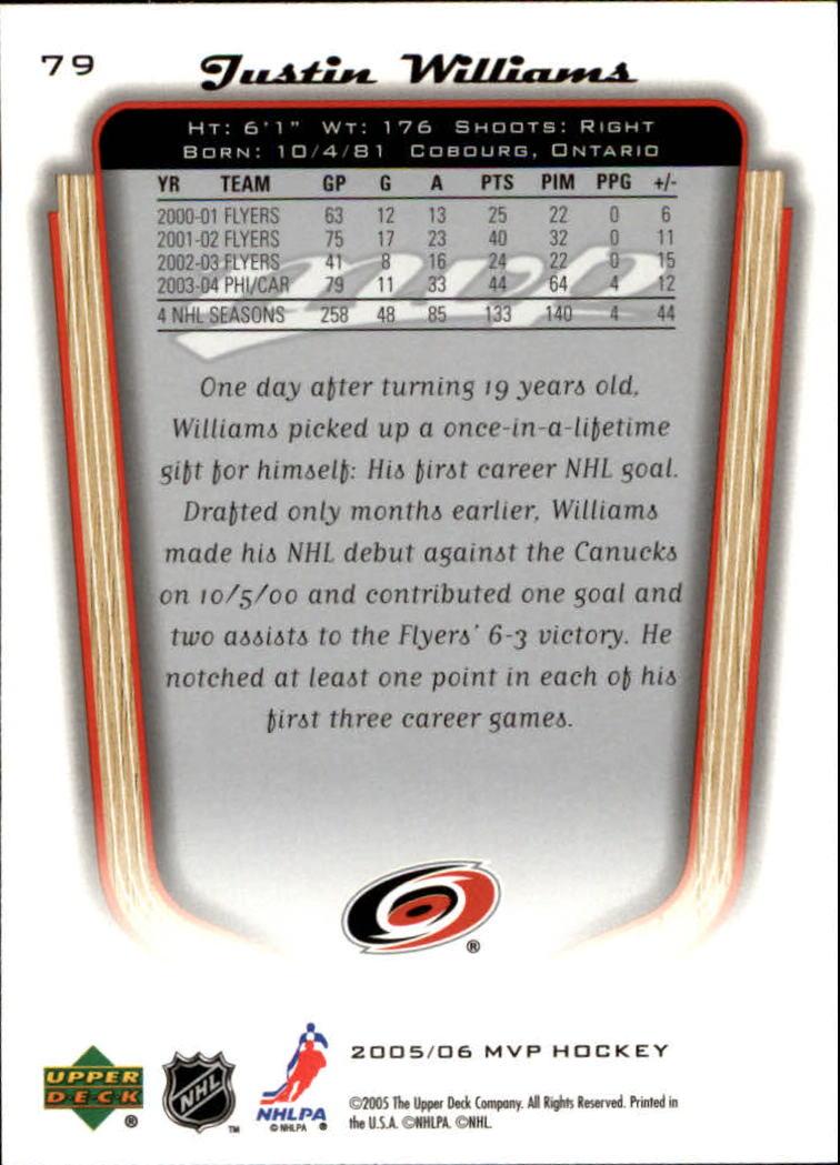 2005-06-Upper-Deck-MVP-Hockey-Card-Pick-1-250 thumbnail 152