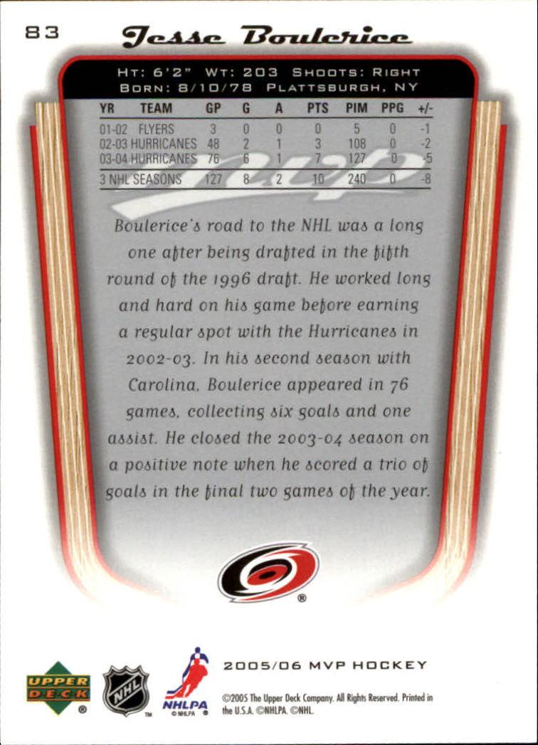 2005-06-Upper-Deck-MVP-Hockey-Card-Pick-1-250 thumbnail 158