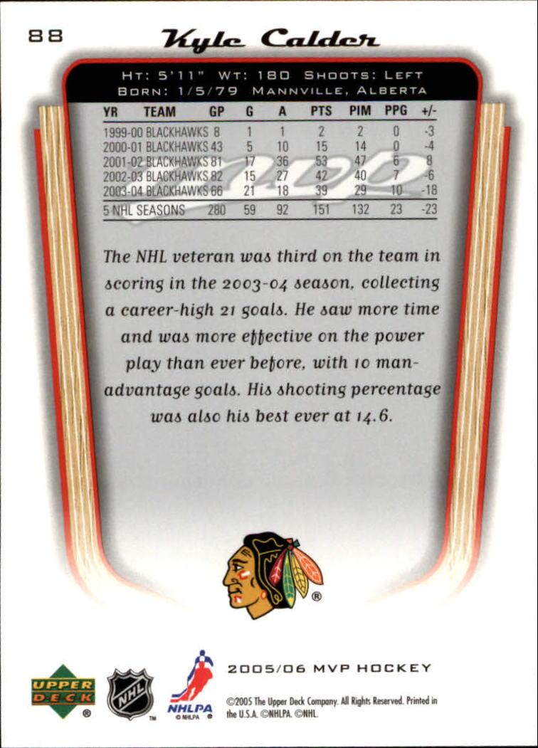 2005-06-Upper-Deck-MVP-Hockey-Card-Pick-1-250 thumbnail 168