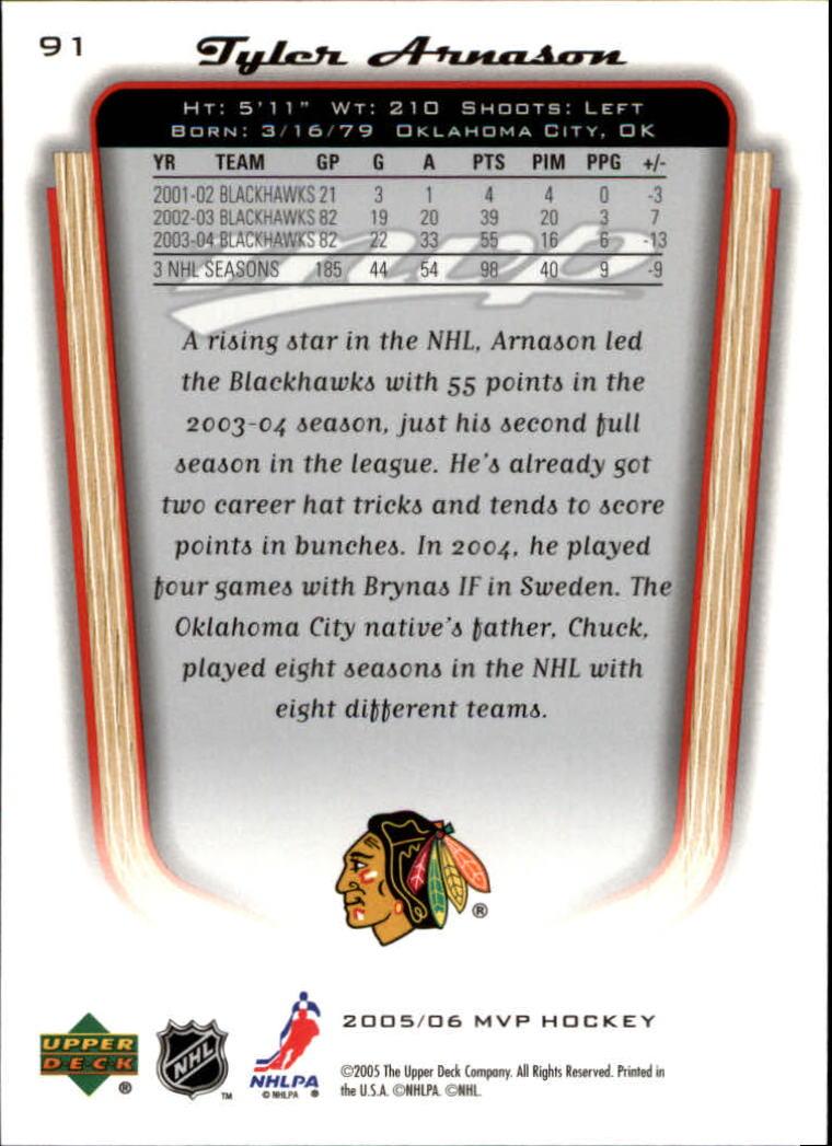 2005-06-Upper-Deck-MVP-Hockey-Card-Pick-1-250 thumbnail 172