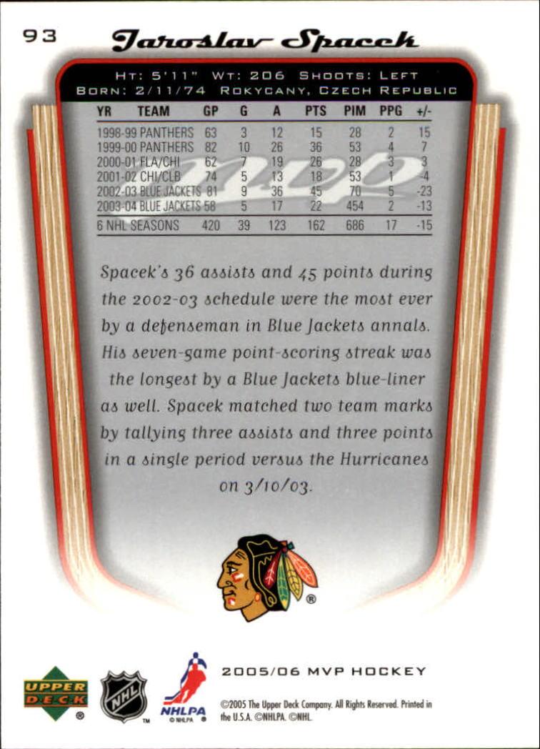 2005-06-Upper-Deck-MVP-Hockey-Card-Pick-1-250 thumbnail 176