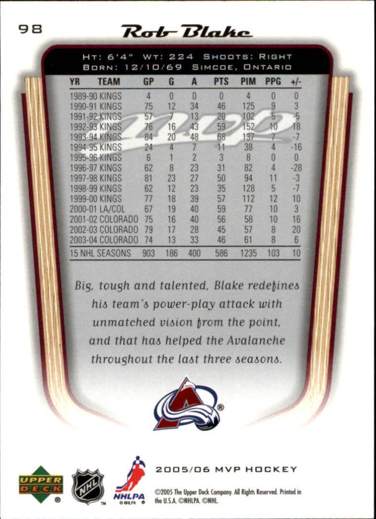 2005-06-Upper-Deck-MVP-Hockey-Card-Pick-1-250 thumbnail 184