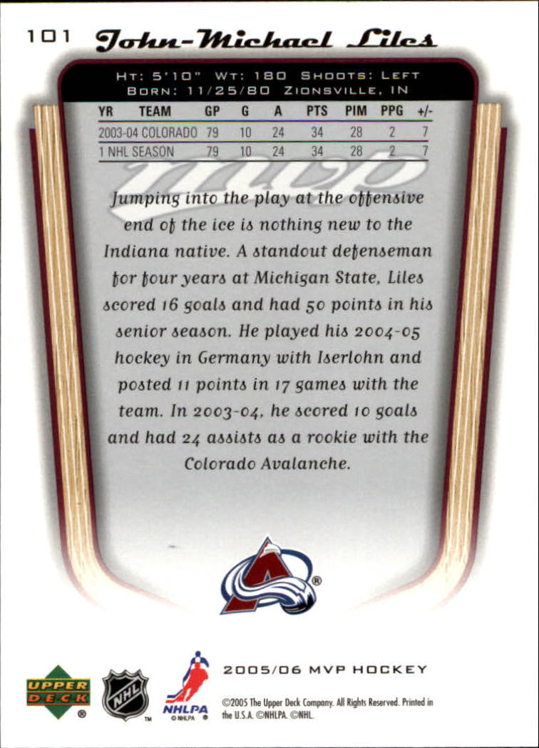 2005-06-Upper-Deck-MVP-Hockey-Card-Pick-1-250 thumbnail 190