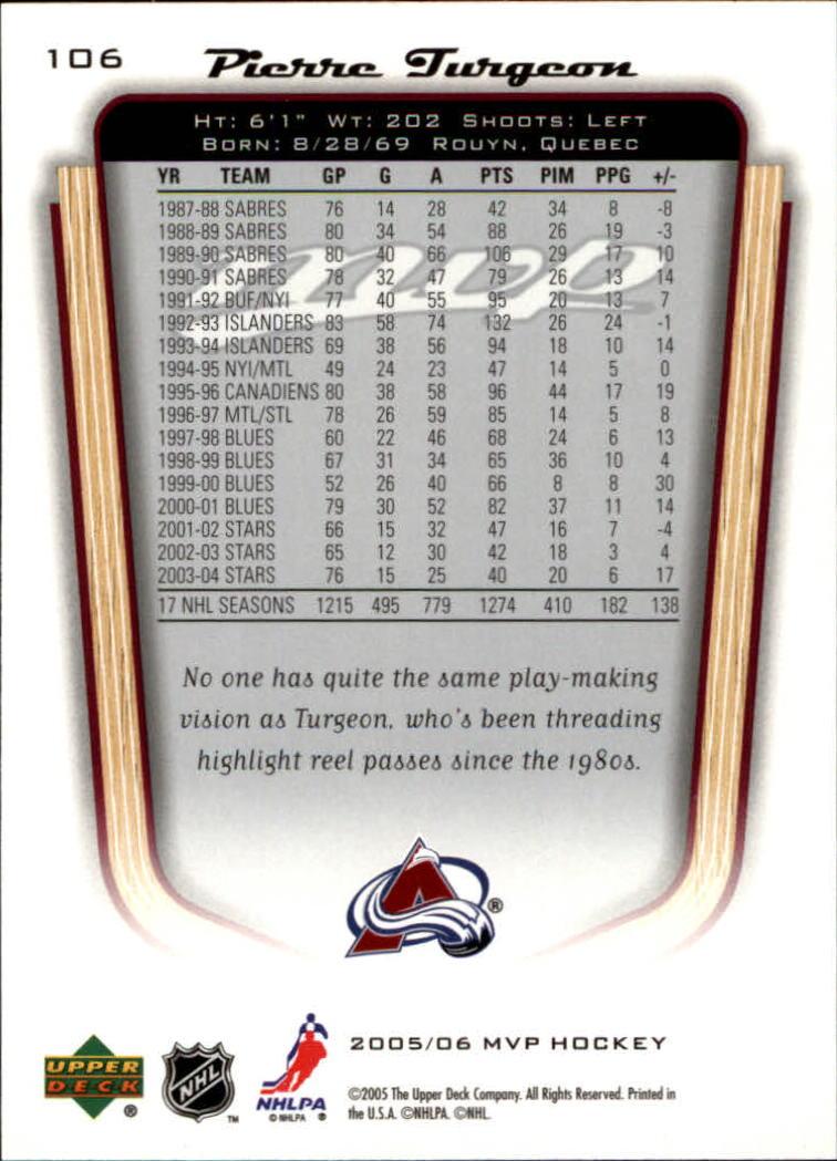 2005-06-Upper-Deck-MVP-Hockey-Card-Pick-1-250 thumbnail 200