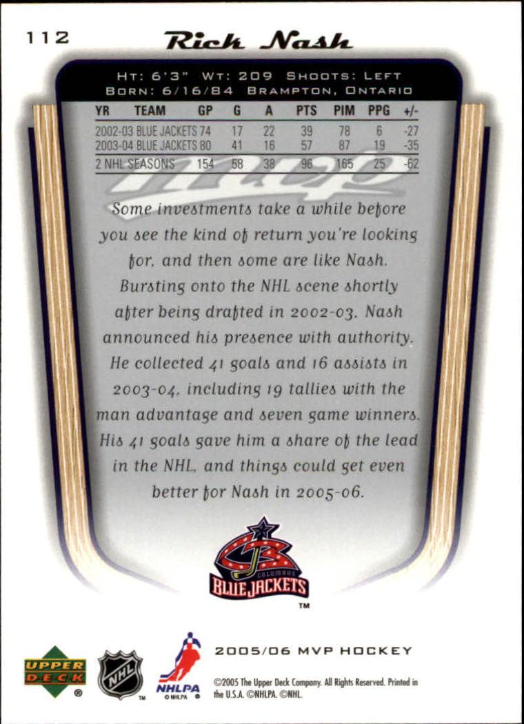 2005-06-Upper-Deck-MVP-Hockey-Card-Pick-1-250 thumbnail 210