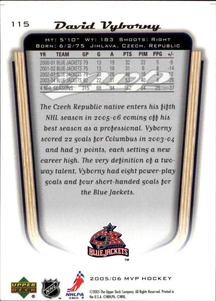 2005-06-Upper-Deck-MVP-Hockey-Card-Pick-1-250 thumbnail 216