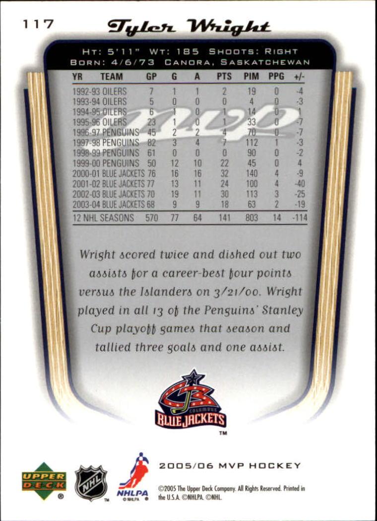 2005-06-Upper-Deck-MVP-Hockey-Card-Pick-1-250 thumbnail 220