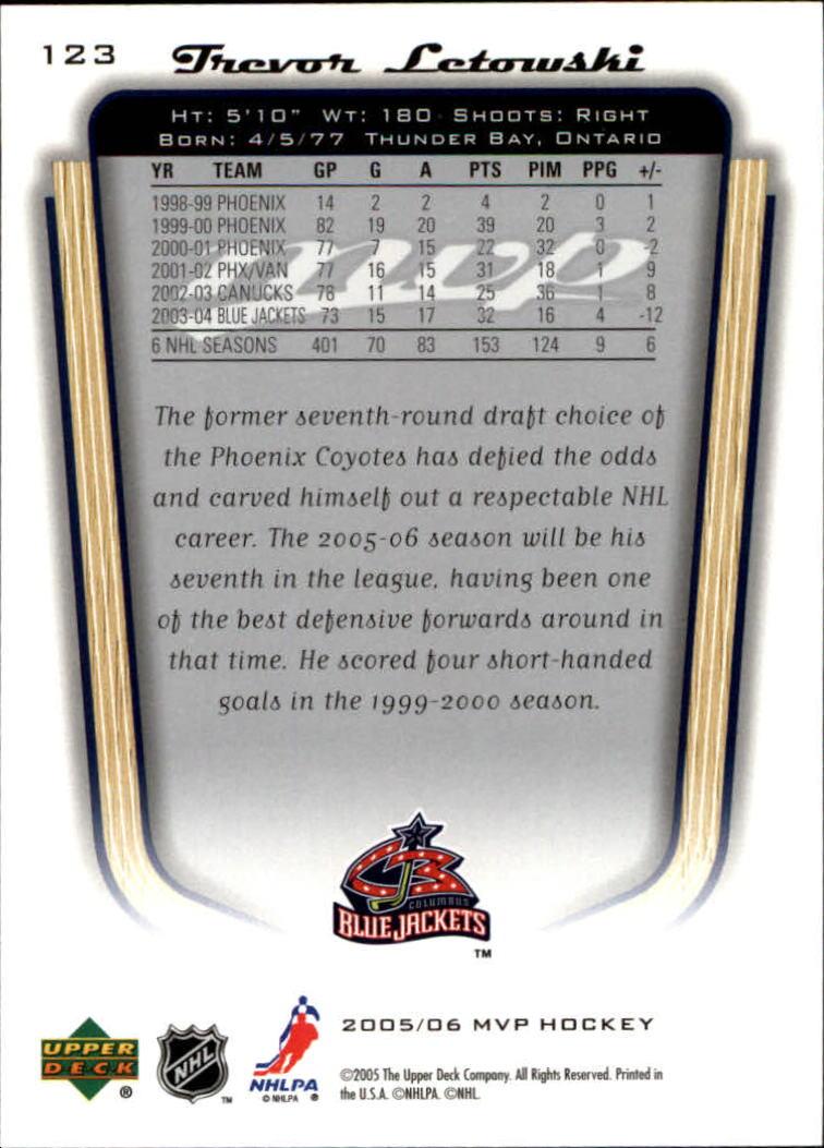 2005-06-Upper-Deck-MVP-Hockey-Card-Pick-1-250 thumbnail 232