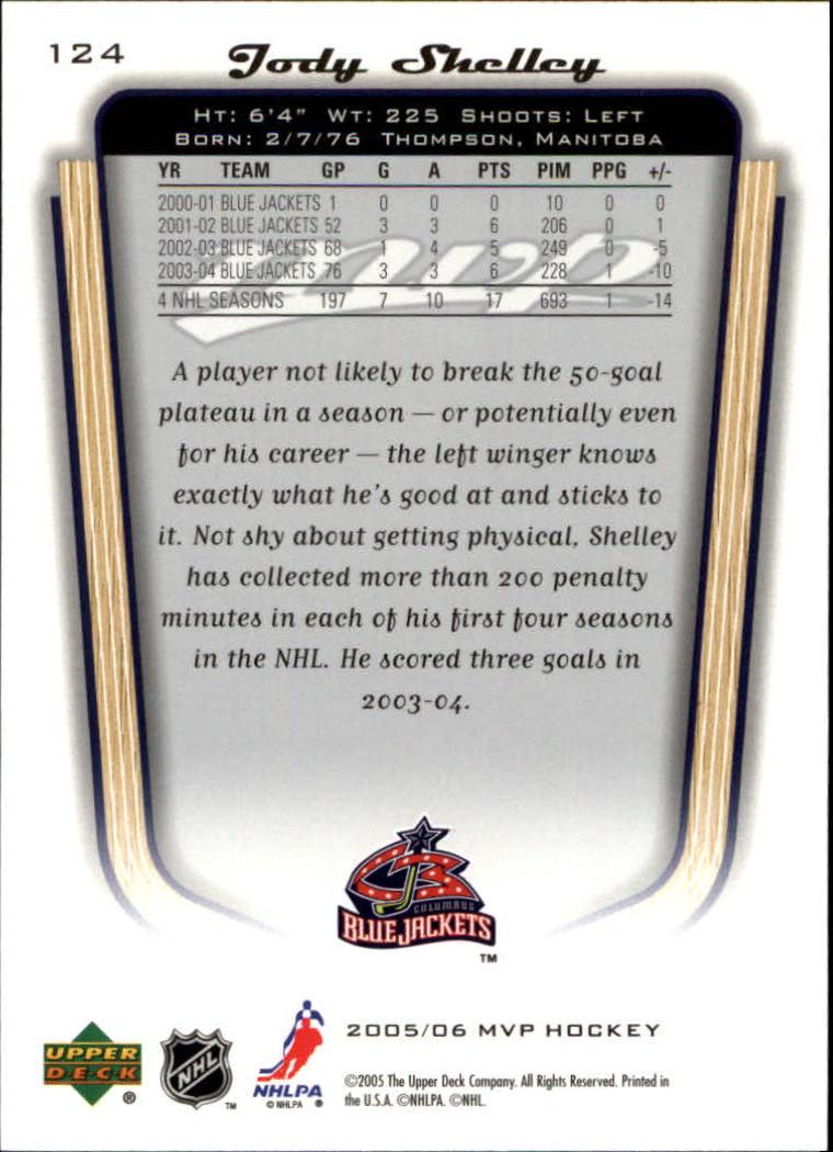 2005-06-Upper-Deck-MVP-Hockey-Card-Pick-1-250 thumbnail 234