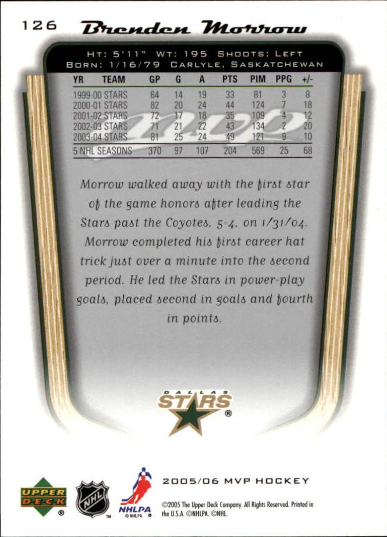 2005-06-Upper-Deck-MVP-Hockey-Card-Pick-1-250 thumbnail 236