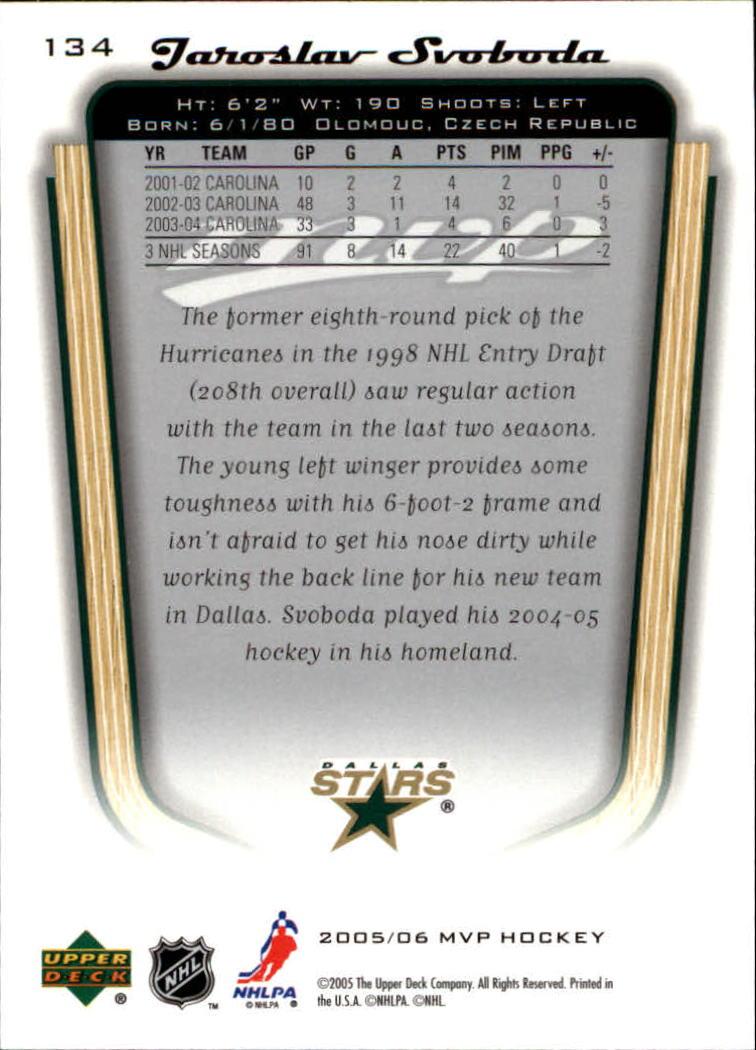 2005-06-Upper-Deck-MVP-Hockey-Card-Pick-1-250 thumbnail 252