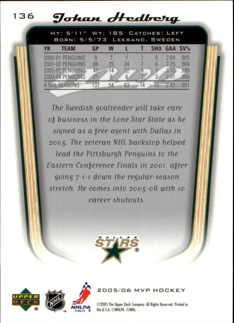2005-06-Upper-Deck-MVP-Hockey-Card-Pick-1-250 thumbnail 256