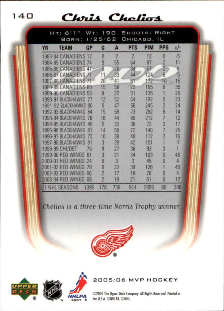 2005-06-Upper-Deck-MVP-Hockey-Card-Pick-1-250 thumbnail 264