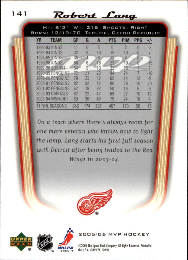 2005-06-Upper-Deck-MVP-Hockey-Card-Pick-1-250 thumbnail 266
