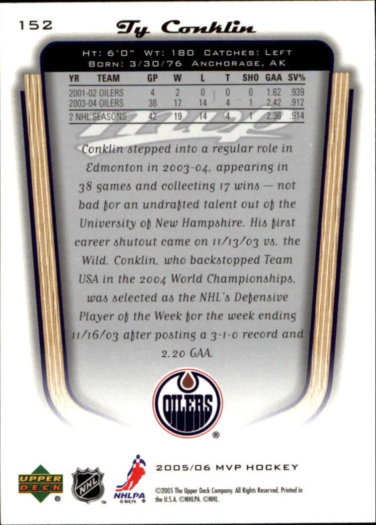 2005-06-Upper-Deck-MVP-Hockey-Card-Pick-1-250 thumbnail 282