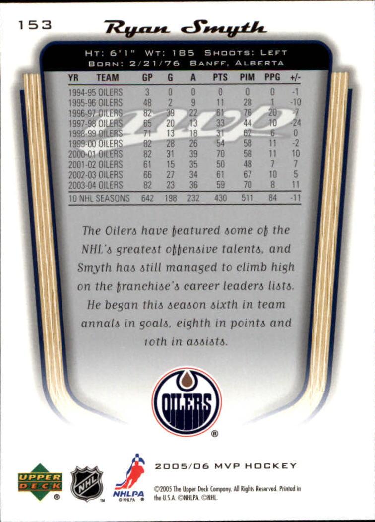 2005-06-Upper-Deck-MVP-Hockey-Card-Pick-1-250 thumbnail 284