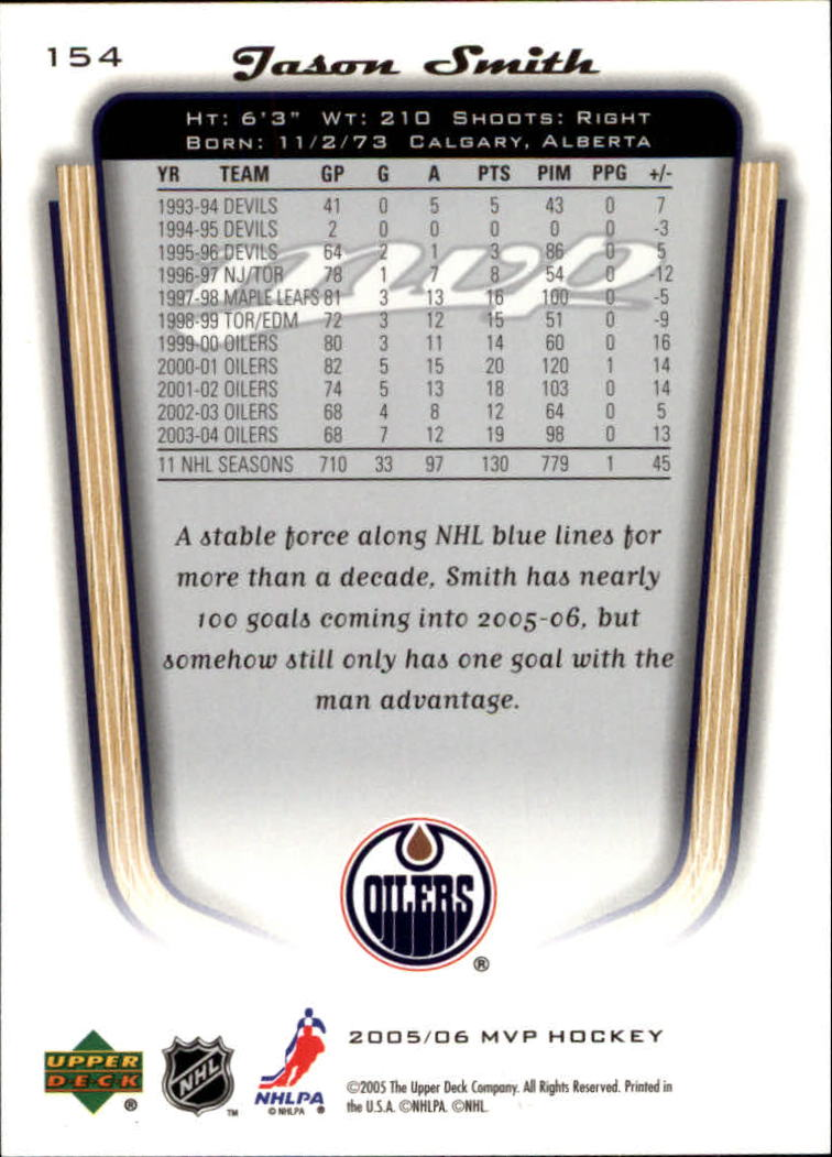 2005-06-Upper-Deck-MVP-Hockey-Card-Pick-1-250 thumbnail 286
