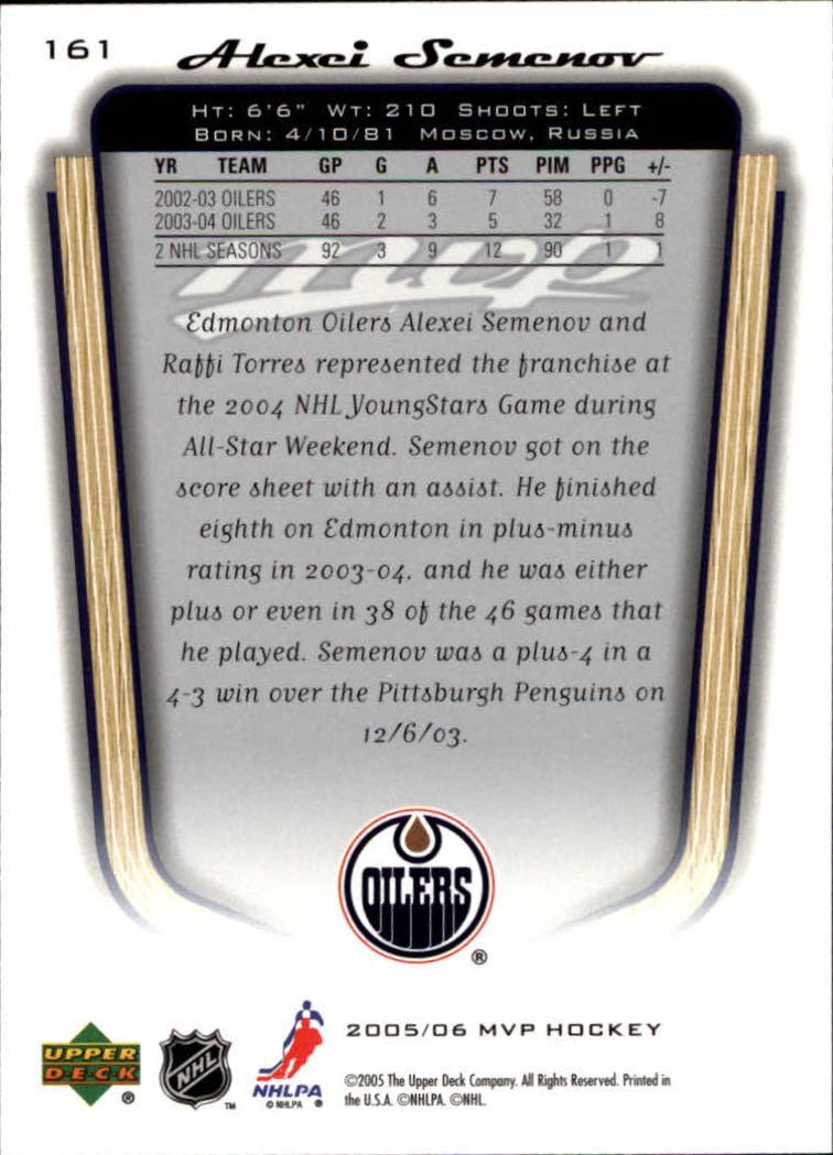 2005-06-Upper-Deck-MVP-Hockey-Card-Pick-1-250 thumbnail 298