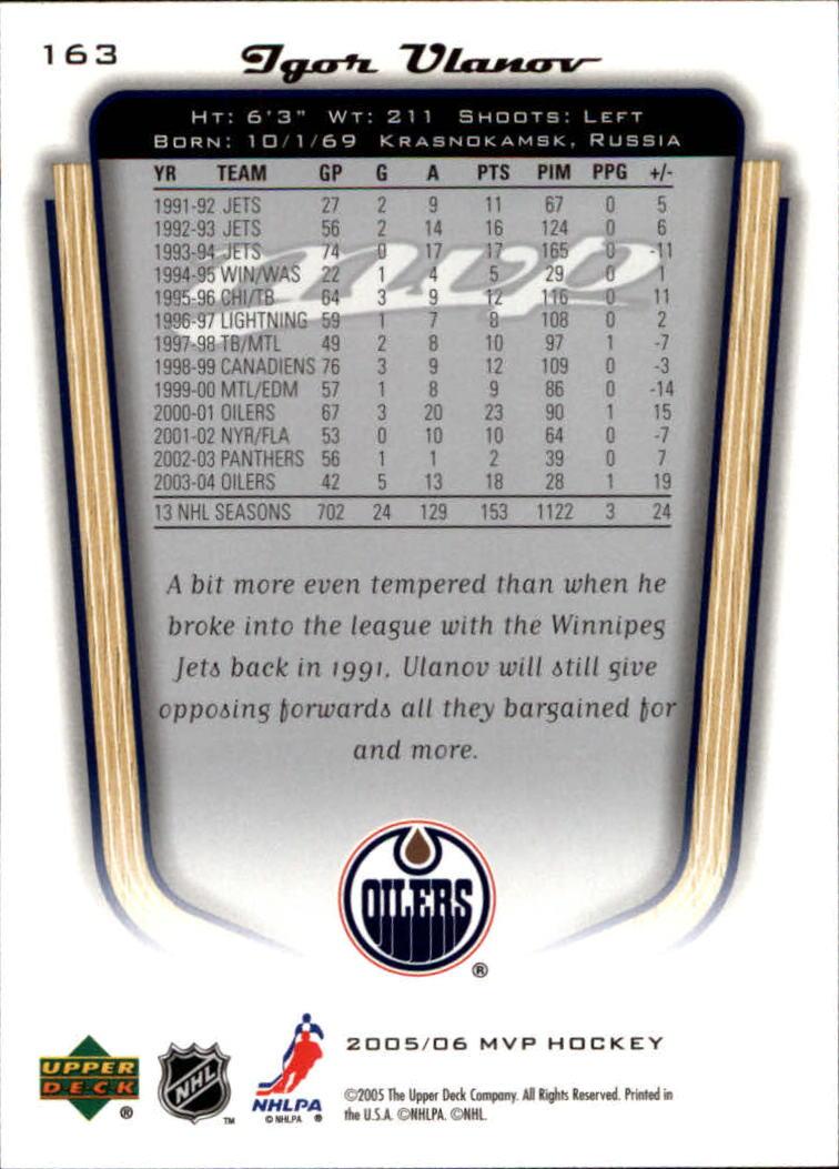 2005-06-Upper-Deck-MVP-Hockey-Card-Pick-1-250 thumbnail 302