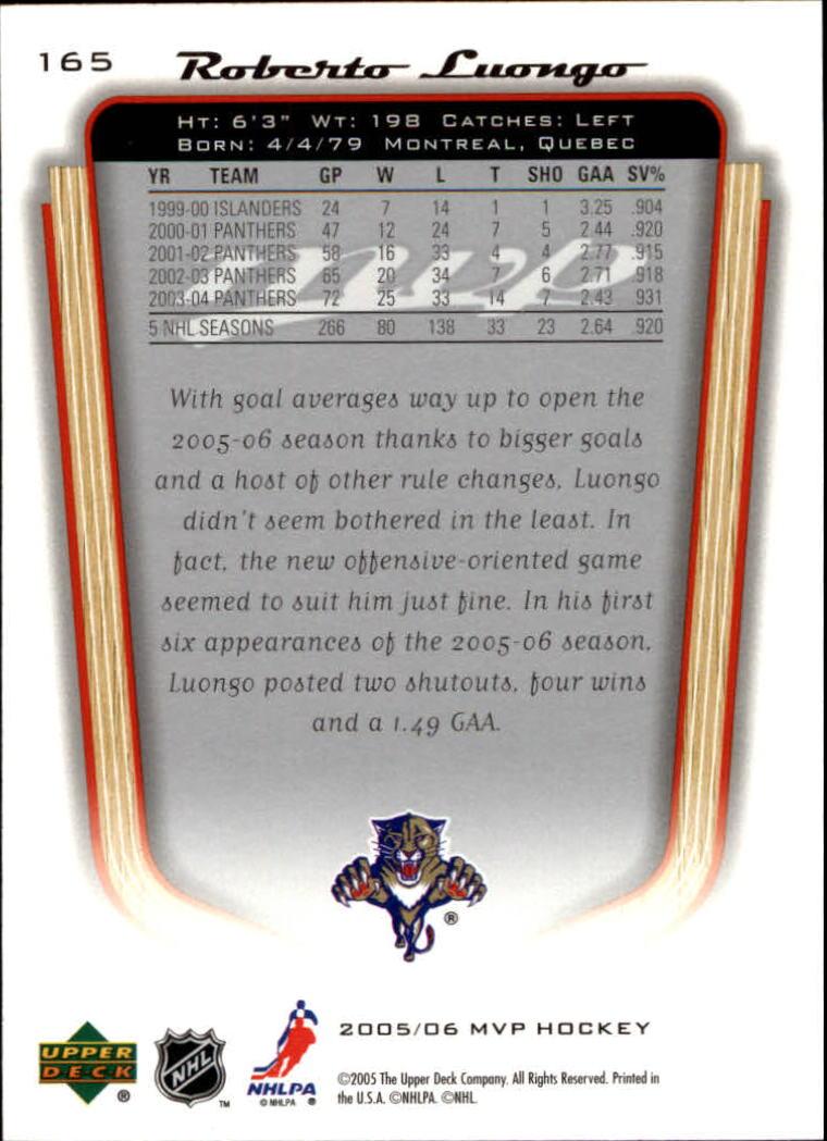 2005-06-Upper-Deck-MVP-Hockey-Card-Pick-1-250 thumbnail 306