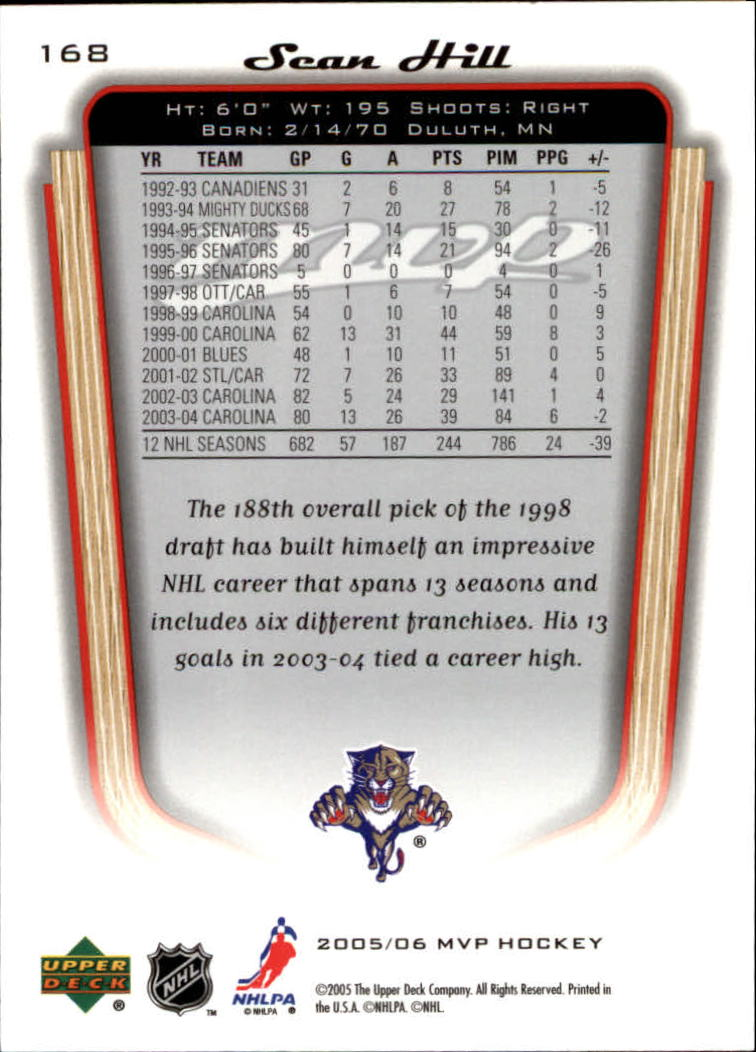 2005-06-Upper-Deck-MVP-Hockey-Card-Pick-1-250 thumbnail 312