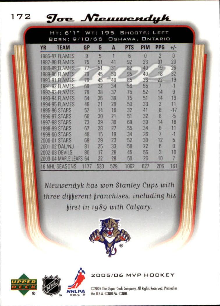 2005-06-Upper-Deck-MVP-Hockey-Card-Pick-1-250 thumbnail 320