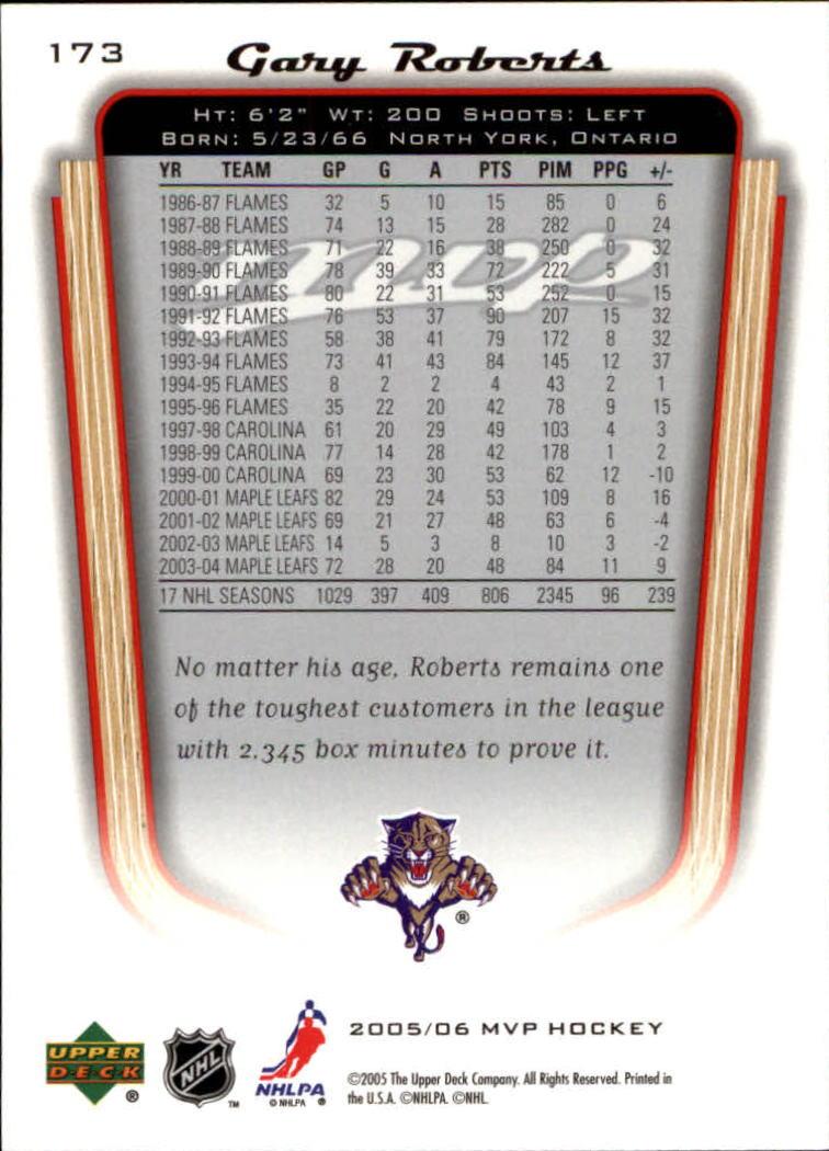 2005-06-Upper-Deck-MVP-Hockey-Card-Pick-1-250 thumbnail 322