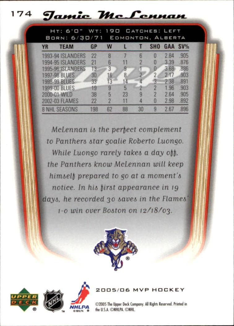 2005-06-Upper-Deck-MVP-Hockey-Card-Pick-1-250 thumbnail 324
