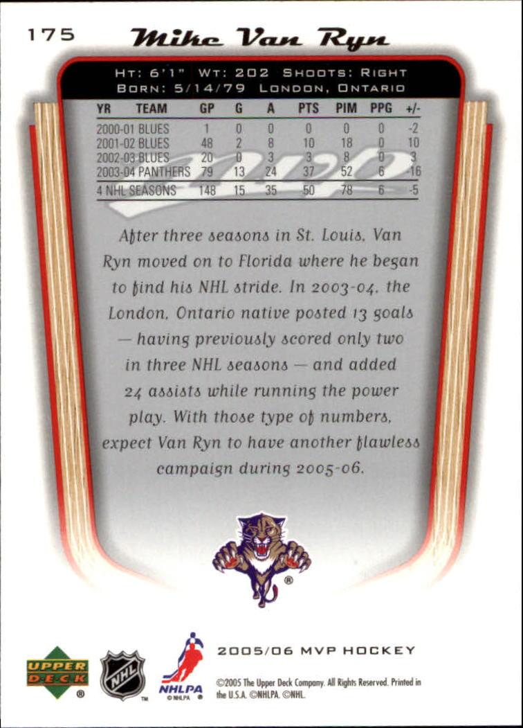 2005-06-Upper-Deck-MVP-Hockey-Card-Pick-1-250 thumbnail 326