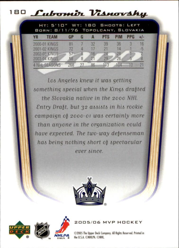 2005-06-Upper-Deck-MVP-Hockey-Card-Pick-1-250 thumbnail 336