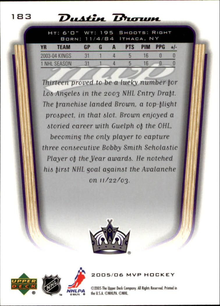 2005-06-Upper-Deck-MVP-Hockey-Card-Pick-1-250 thumbnail 342