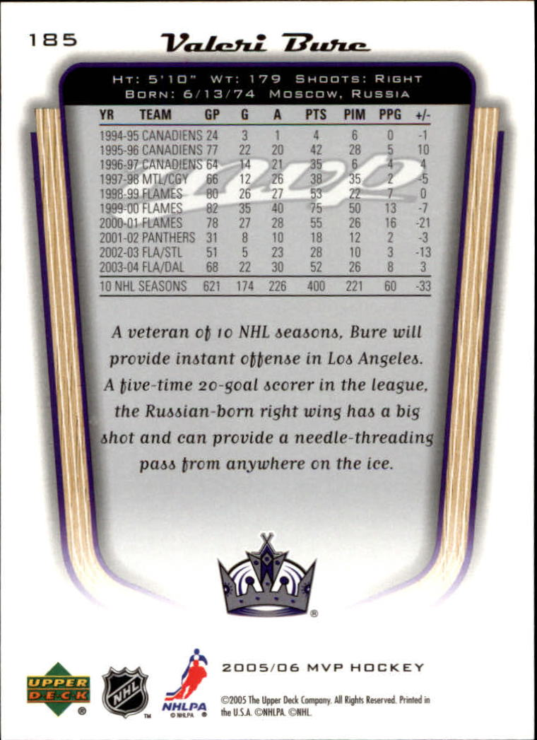 2005-06-Upper-Deck-MVP-Hockey-Card-Pick-1-250 thumbnail 346