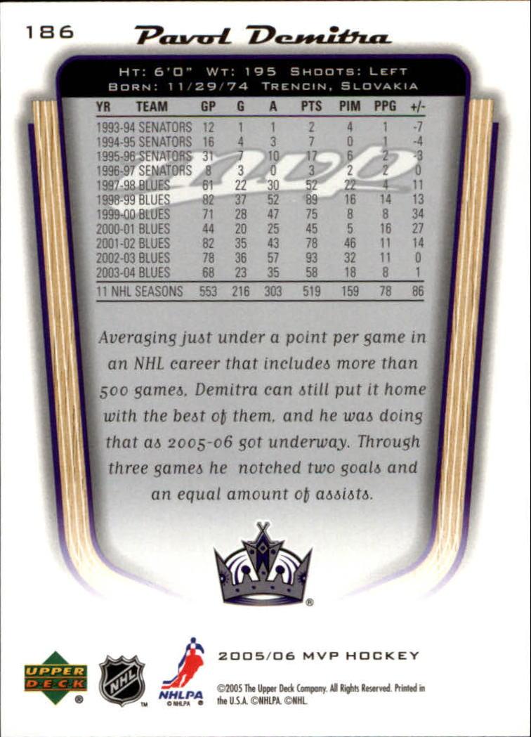 2005-06-Upper-Deck-MVP-Hockey-Card-Pick-1-250 thumbnail 348