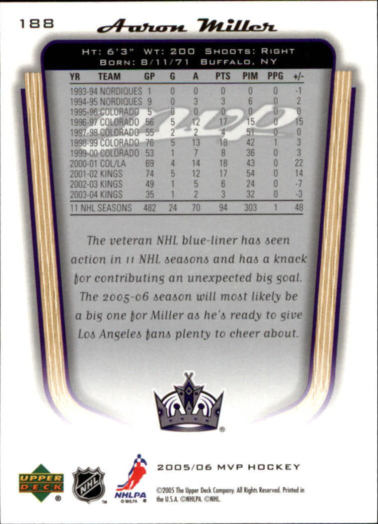2005-06-Upper-Deck-MVP-Hockey-Card-Pick-1-250 thumbnail 350