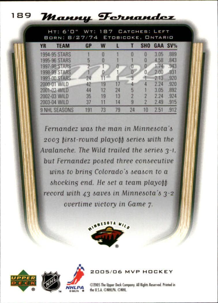 2005-06-Upper-Deck-MVP-Hockey-Card-Pick-1-250 thumbnail 352