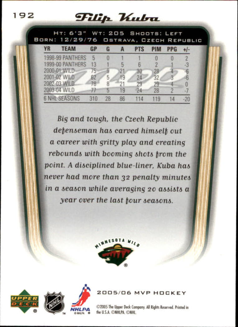 2005-06-Upper-Deck-MVP-Hockey-Card-Pick-1-250 thumbnail 358