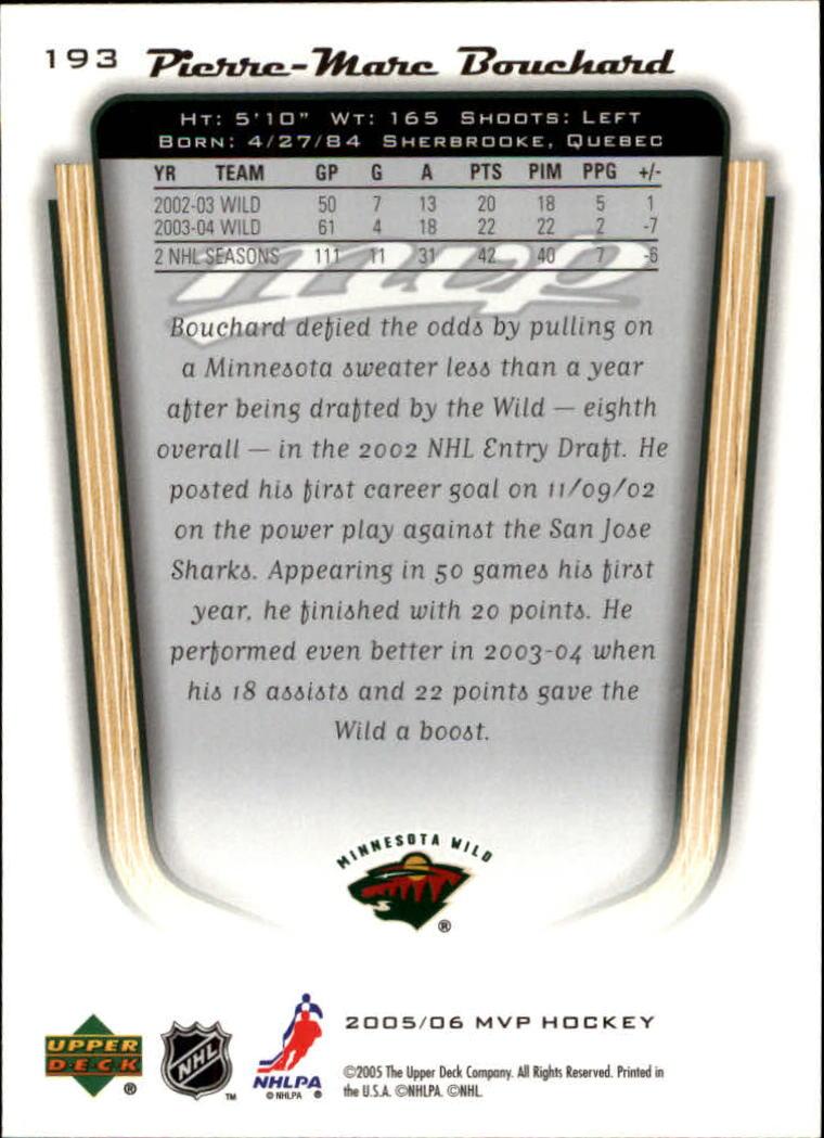 2005-06-Upper-Deck-MVP-Hockey-Card-Pick-1-250 thumbnail 360